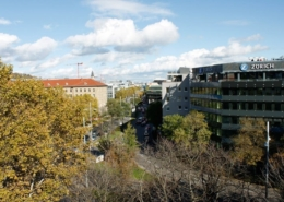Umzug in Stuttgart.