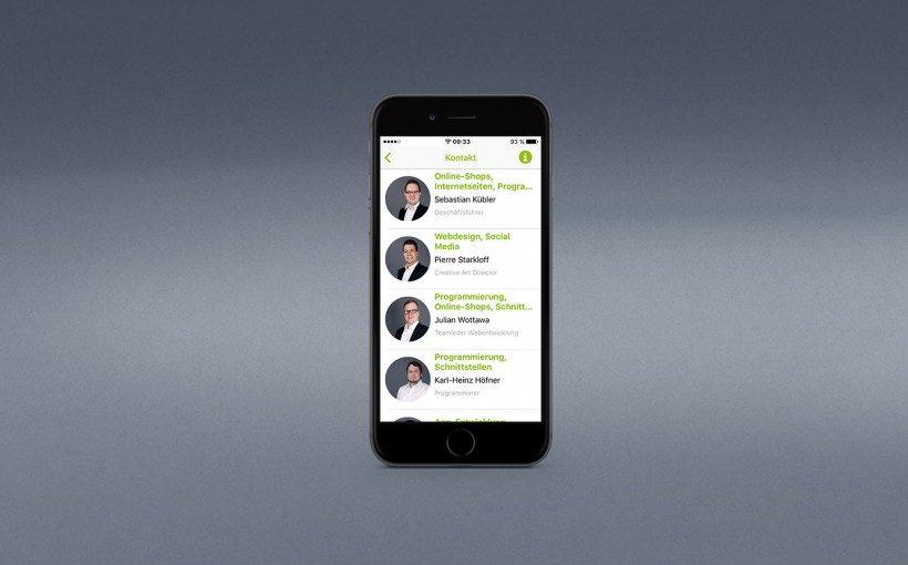 econsor entwickelt hauseigene App für Kunden/Interessenten