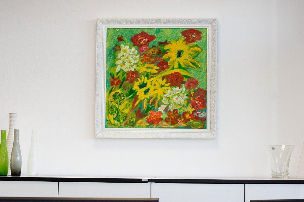 Hochwertige Gemälde in Stuttgarter Büros