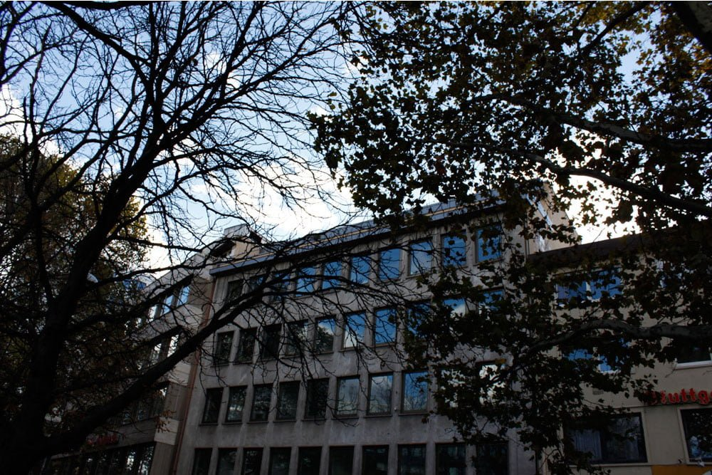 Aussicht des Stuttgarter econsor Büro