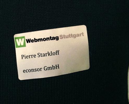 econsor besucht den Webmontag in Stuttgart