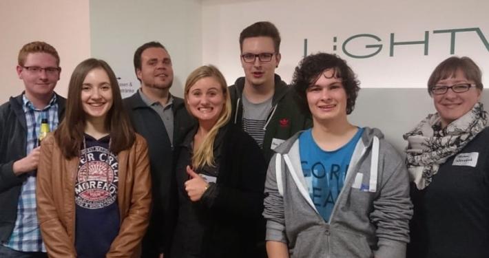 econsor als Sponsor für Relase Party bei lightwerk Stuttgart