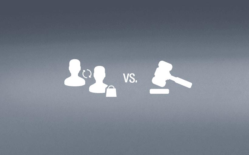 Blogbeitrag Konversion vs recht