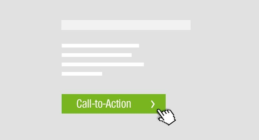 Call-to-Action Anzeige
