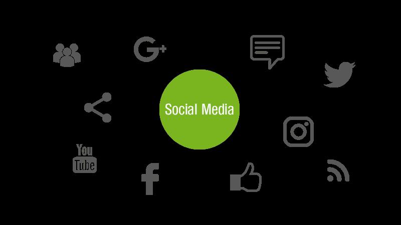 Soziale Netzwerke Grafik