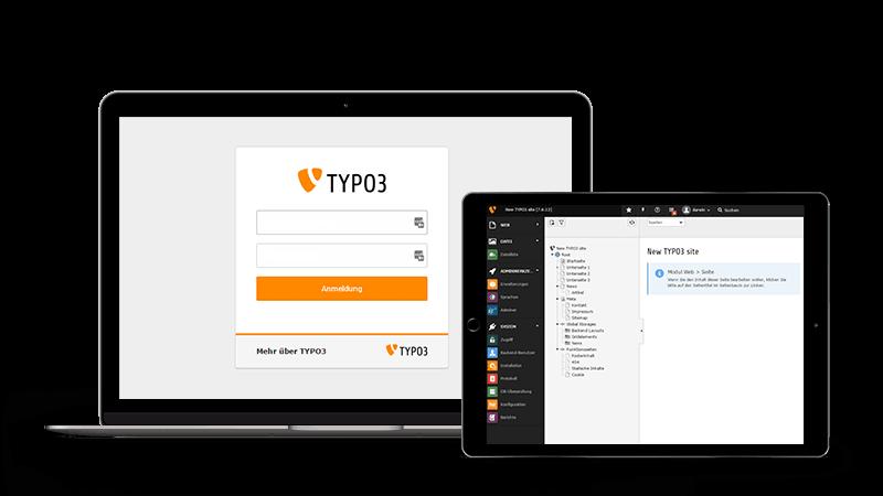 Leistungen unserer TYPO3-Agentur