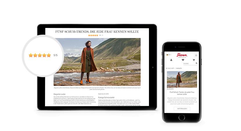 Sioux Magazin auf dem IPad und IPhone