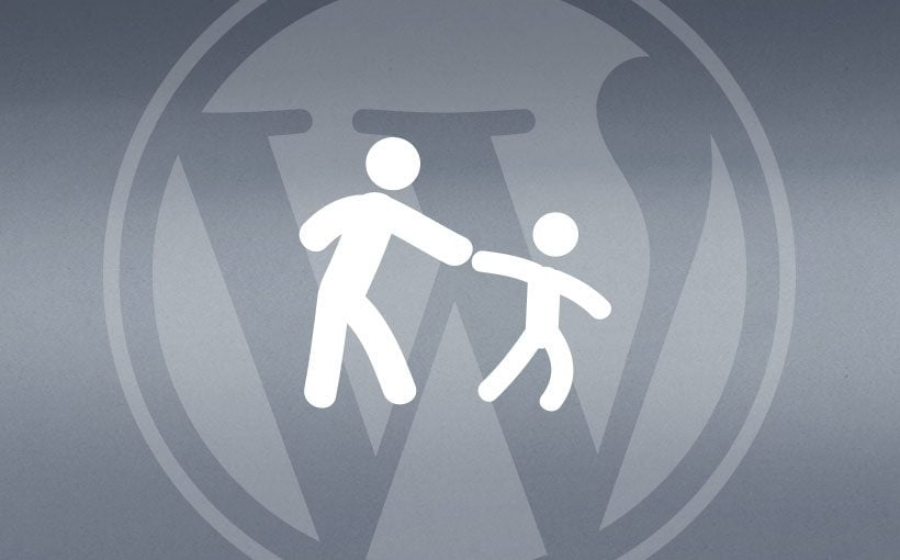 Blogbeitrag Anleitung WordPress child theme