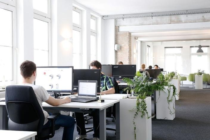 Grünstes Büro Heilbronns