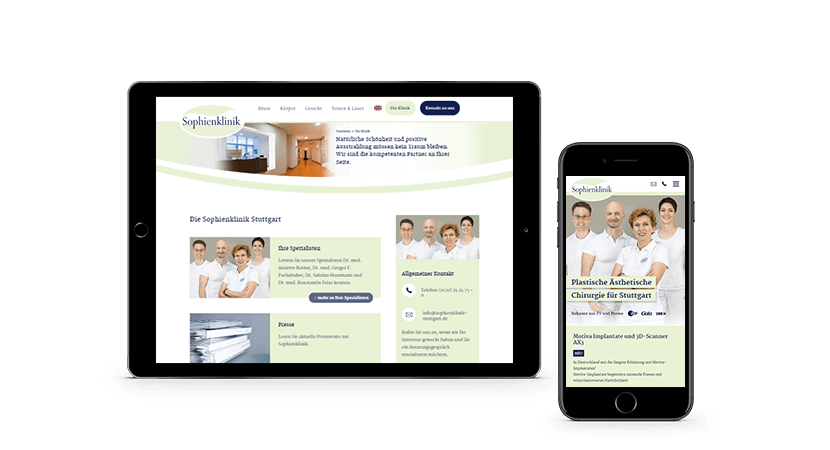 Sophienklinik-Responsive-Webseite-Macbook-Iphone