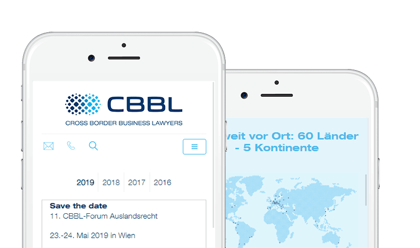 CBBL auf dem mobilen Endgerät