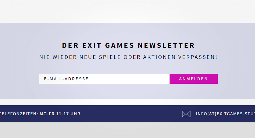 Newsletter Login
