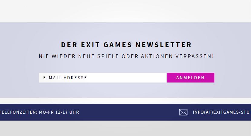 Newsletter Login