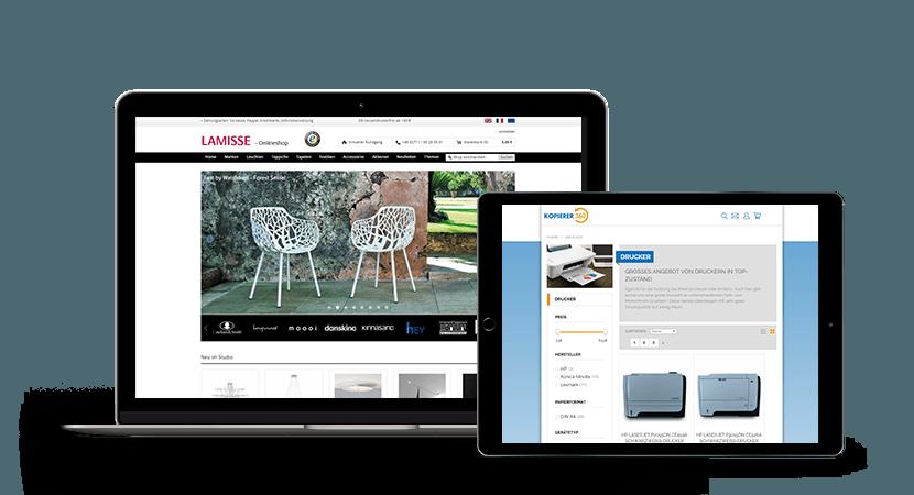 Webdesign Referenzen Screenshot