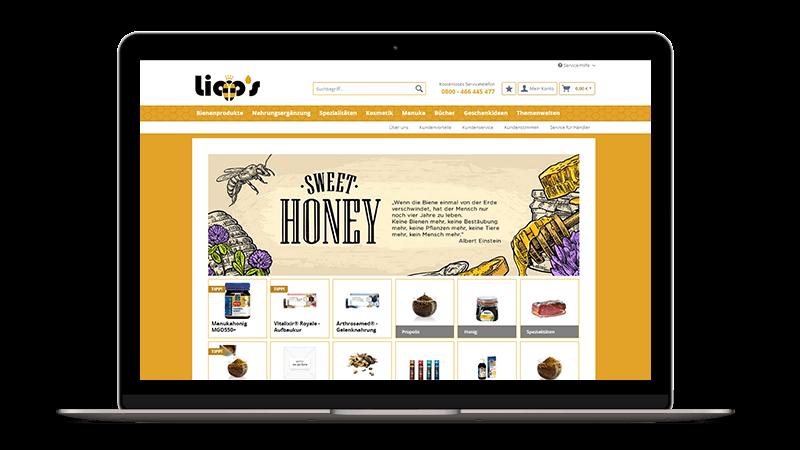lipp´s Welt Online-Shop Screenshot