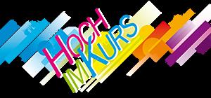 Hoch im Kurs Logo