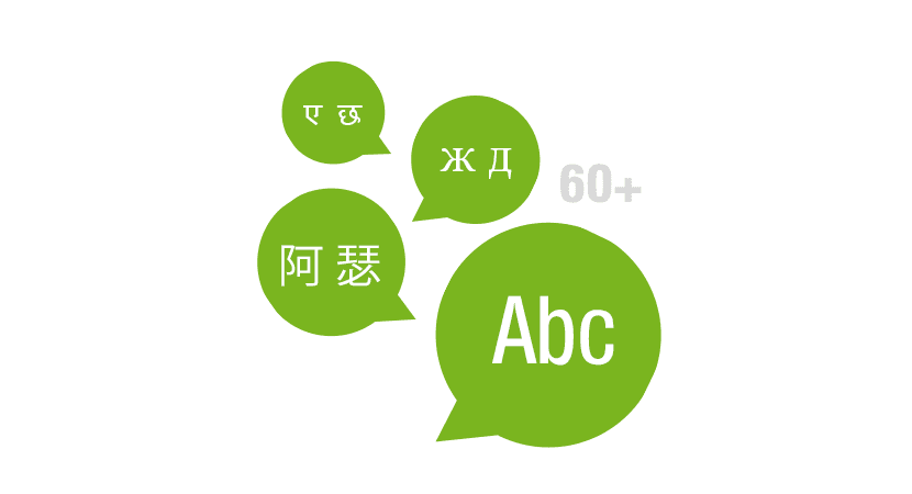 Multilingualer Online-Shop