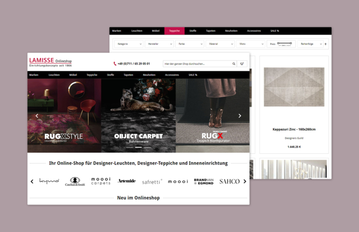 Lamisse - Online-Shop