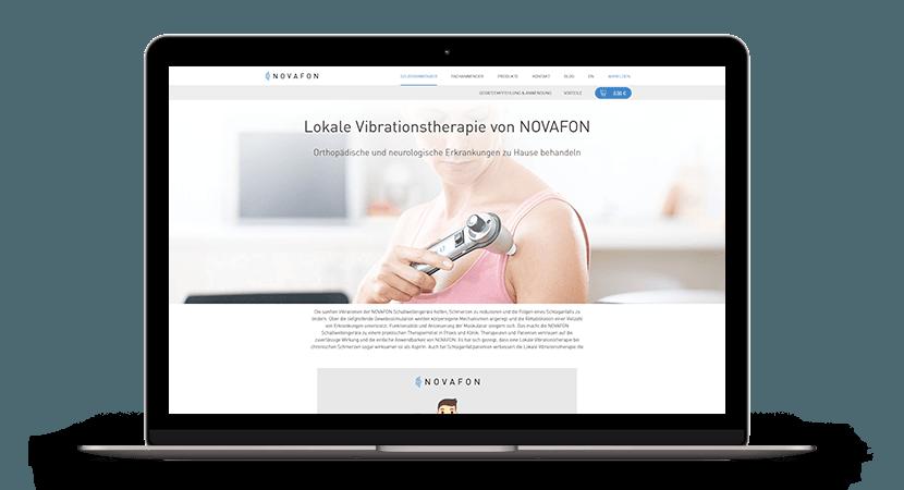 Shopware-Relaunch für NOVAFON
