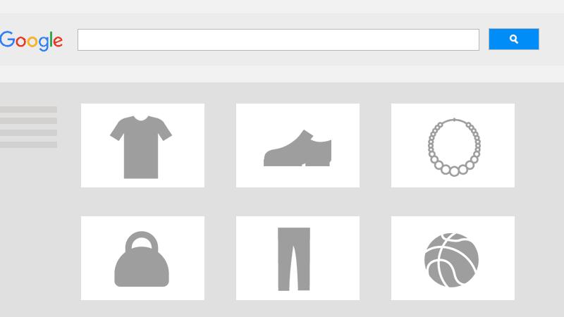 Google Shopping Anzeigen Grafik