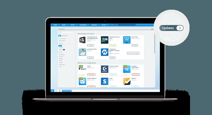 Shopware-Plugins Screenshot