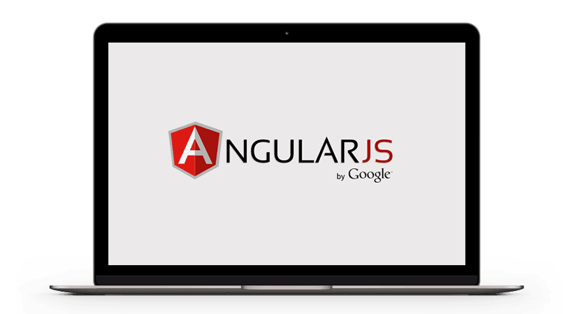 Laptop mit Angular JS by Google