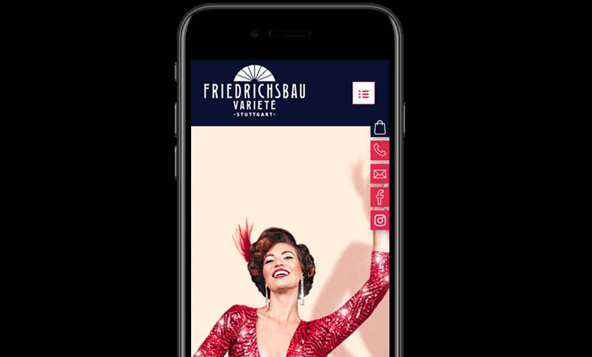 Friedrichsbau iPhone