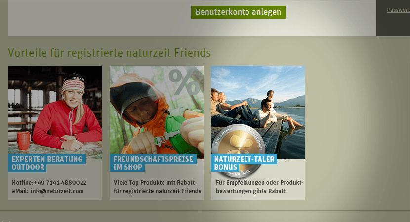 Bonussystem Naturzeit