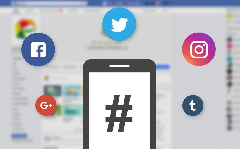 Blogbeitrag Hashtags