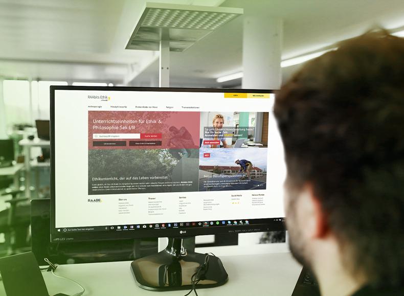 Raabits Ethik Desktop Screenshot