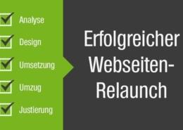 Fünf Schritte zum Webseiten Relaunch
