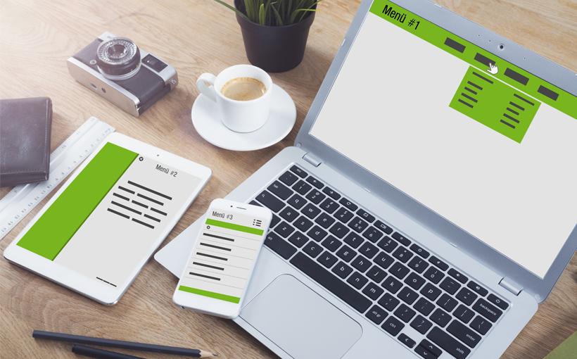 Blogbeitrag Navigationen auf Webseiten