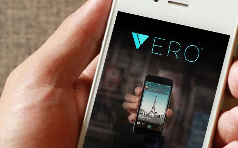 Blogbeitrag über Vero