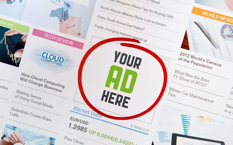 Blogbeitrag Werben auf Webseiten