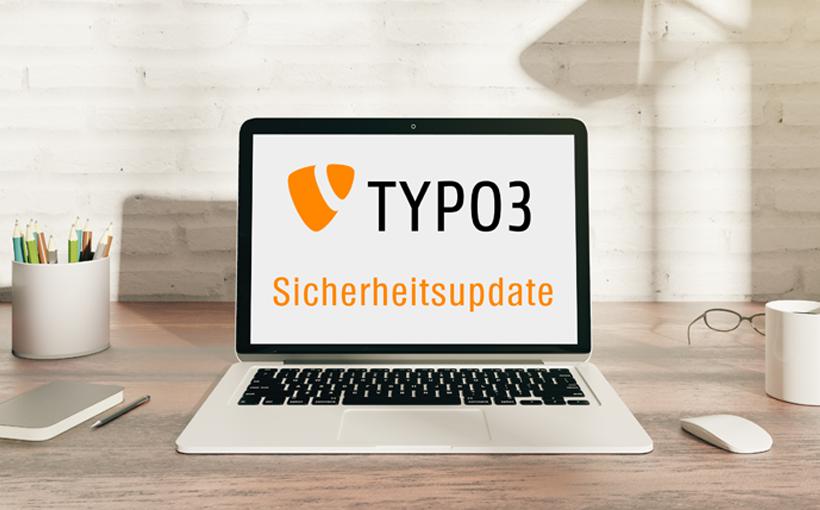 Blogbeitrag Bild TYPO3 Sicherheitsupdate