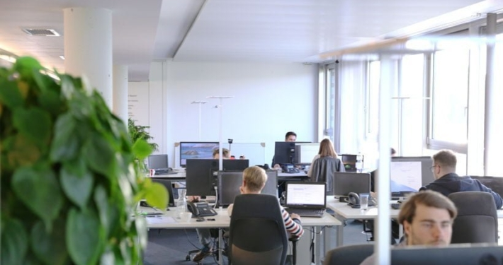 Das Büro in Stuttgart