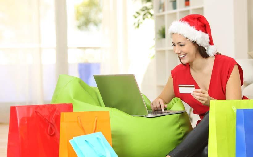 Online Shopping für Weihnachten
