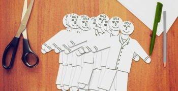 Papier Männchen