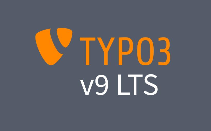 TYPO3 v9 LTS