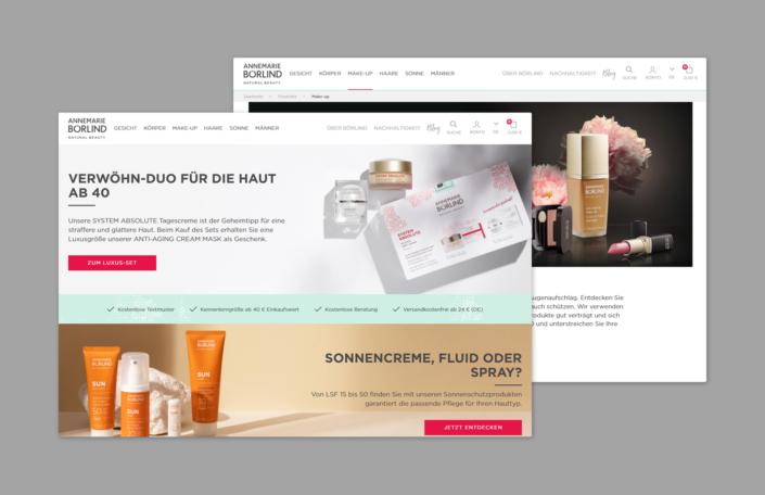 Annemarie Börlind Webseite
