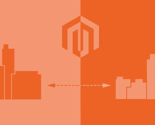 Magento Logo und B2B