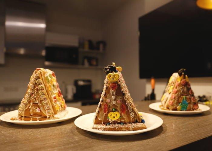 Lebkuchenhäuser von den econsor Mädels 2018
