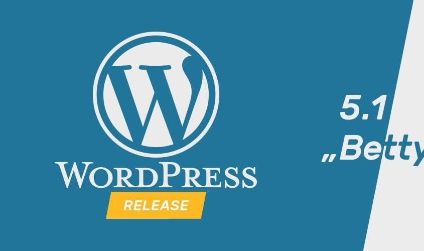 "WordPress Update ""Betty"" 5.1"