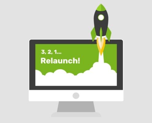 relaunch web