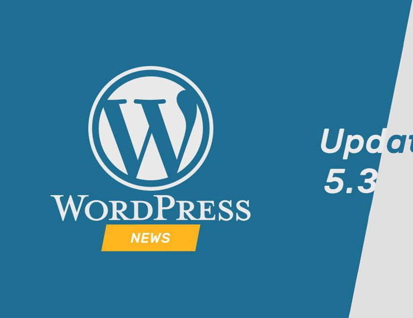 Update WordPress 5.3