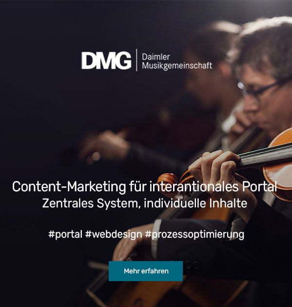Case Study Daimler Musikgemeinschaft